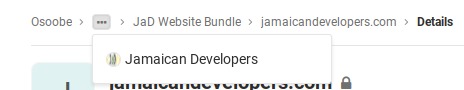 Osoobe   Jamaican Developers   JaD Website Bundle   jamaicandevelopers com · GitLab
