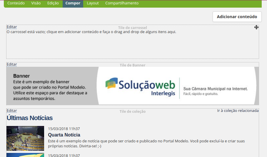 Populate cover carousel - Customizing Plone - Plone Community