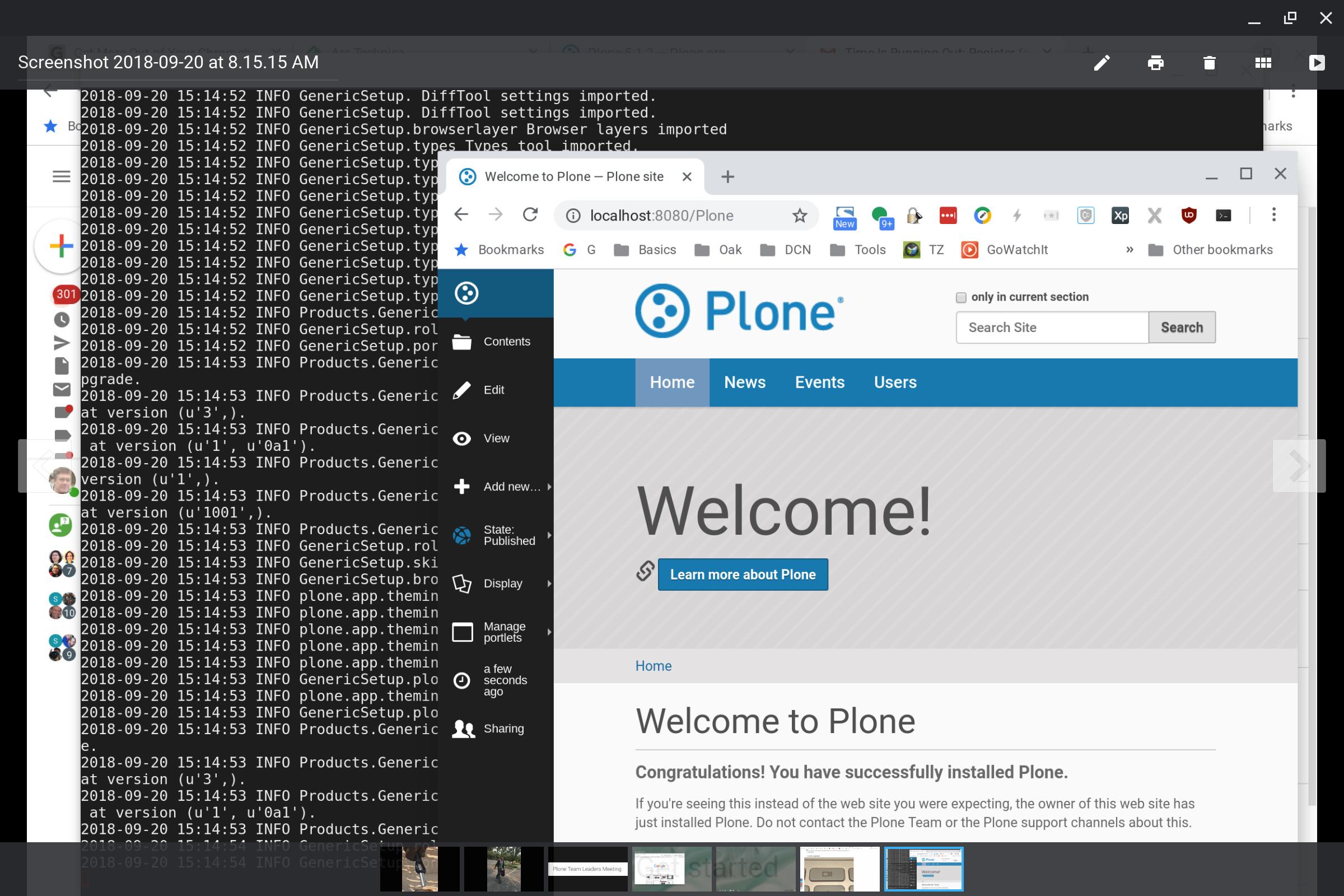 Plone On Chromebook Plone Community